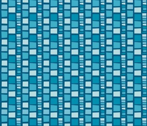 Improv Blues fabric by mgdoodlestudio on Spoonflower - custom fabric