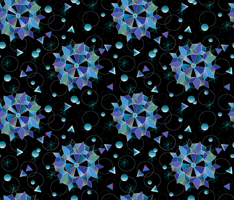 Space is pretty fabric everhigh spoonflower for Space is fabric