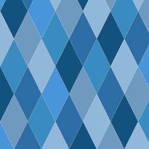 Blue Argyle Diamonds