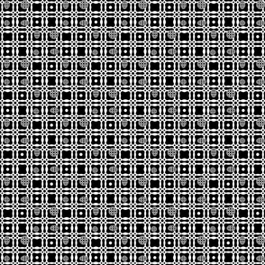 Black and White Global Dots