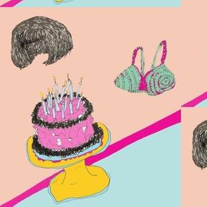 Hair and Bra Birthday