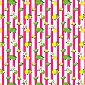 Pink Citrus stripes