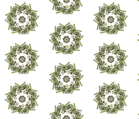 Ornate Celtic Motif fabric by imagine_cg_images on Spoonflower - custom fabric