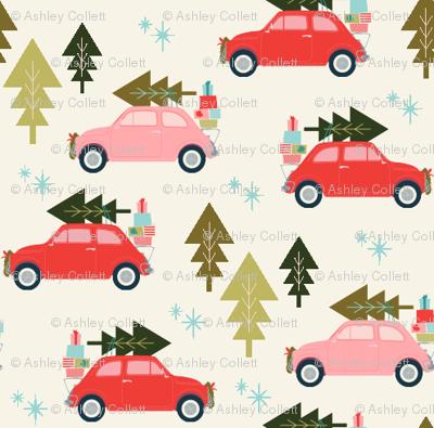 Christmas Car Cream