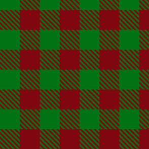 Buffalo Plaid Red & Green