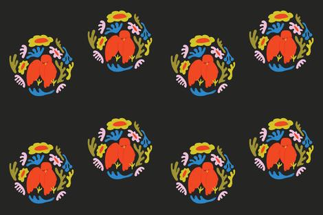 bird-pillow-02 fabric by bashfulbirdie on Spoonflower - custom fabric