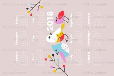 Birdie 2018 Calendar