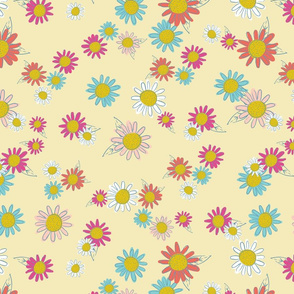 Woodland Floral - Yellow