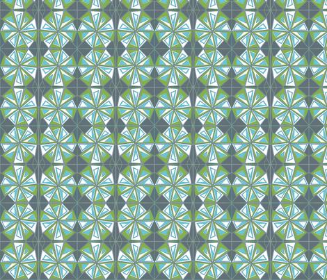 abstract triangles fabric by katebartholomew on Spoonflower - custom fabric