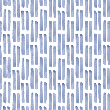 watercolor blue lines fabric by alenaganzhela on Spoonflower - custom fabric