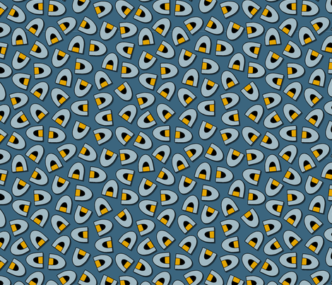 Your Igloo or Mine WINTER fabric by jewelraider on Spoonflower - custom fabric