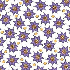 Megan McKenzie's Floral Pointelles