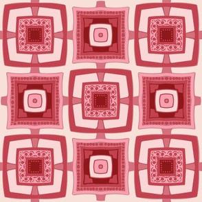 Modern Rosie Tile