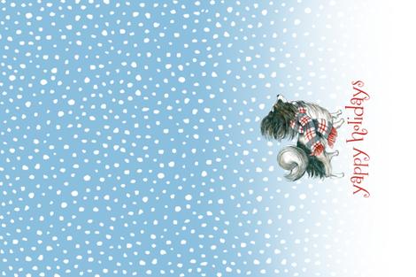 Yappy Holidays fabric by sherri_bb on Spoonflower - custom fabric