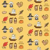 Thanksgiving Hero Pattern