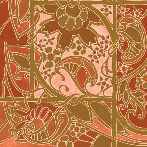 Autumn Memories fabric by edsel2084 on Spoonflower - custom fabric