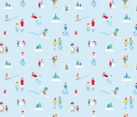 Whimsical Wonderland fabric by allisonbeilkedesigns on Spoonflower - custom fabric