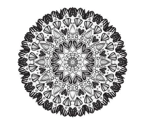 color_me_mandala fabric by pixabo on Spoonflower - custom fabric
