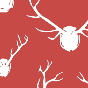 Antlers-red