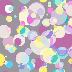 circles pastels med scale