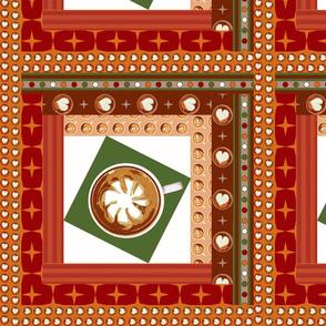 latte log cabin  green tilt