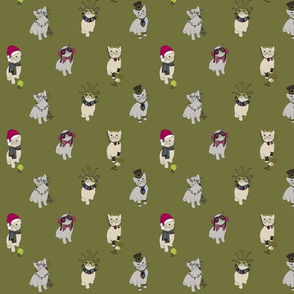 Fabric cats 1 scrub