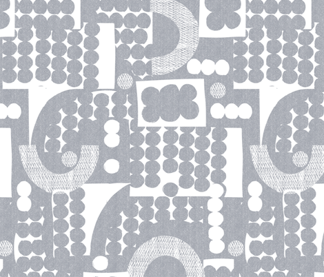 deconstructed dots fabric by ottomanbrim on Spoonflower - custom fabric