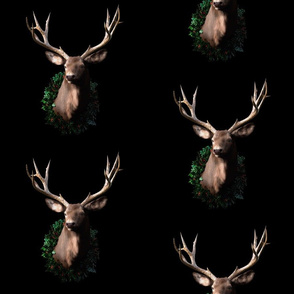 Christmas Stag Pattern