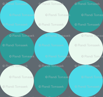 circles (blue)