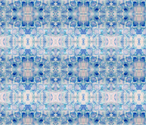 winter blue 1 fabric by aluse on Spoonflower - custom fabric