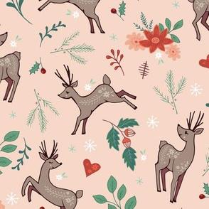 Festive Forest Deer light
