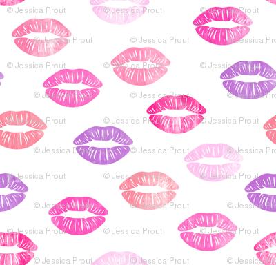 smooches - kisses - multi