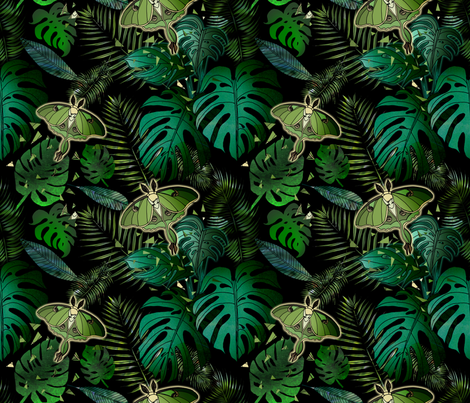 Luna fabric by irishvikingdesigns on Spoonflower - custom fabric