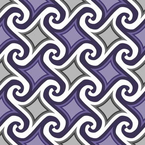 tesselated swirls, deluxe