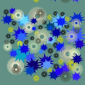 starburst explosion