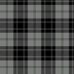 "Douglas grey tartan, 3"""