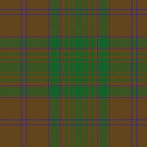 "MacAlister of Glenbarr hunting tartan, 6"""
