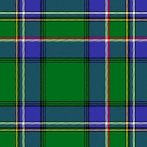 Cockburn old asymmetrical tartan, 6""