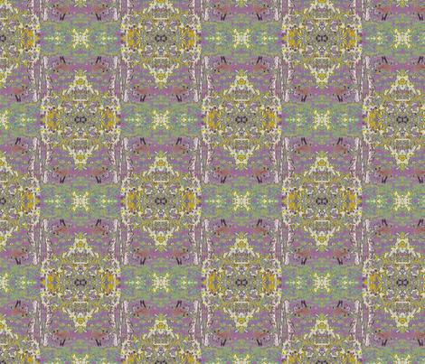 Brocade Fox Mauve fabric by silver_chain on Spoonflower - custom fabric