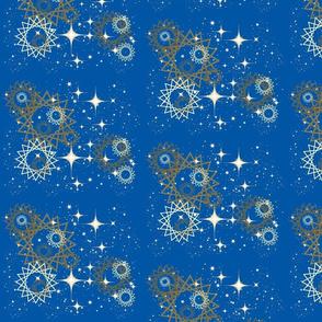 night floating stars