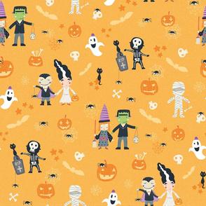 "Halloween ""trick or treat"""