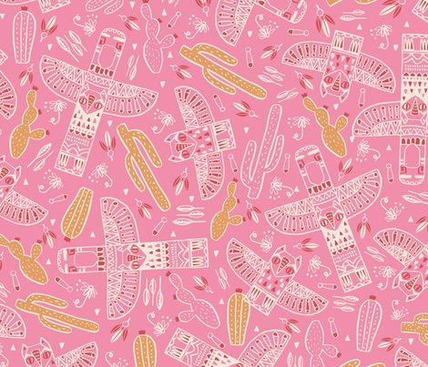 Pattern_totems_rosa_shop_preview