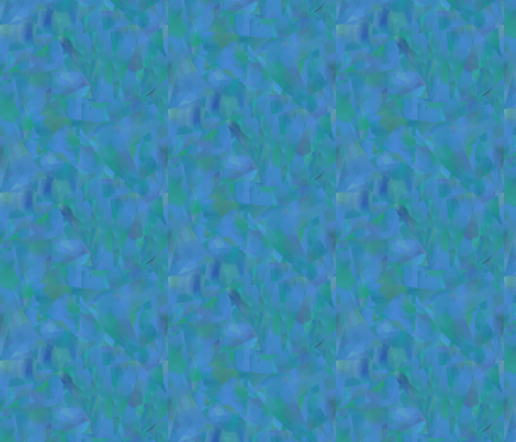 Textural Fragments, blue-green fabric by katielee on Spoonflower - custom fabric