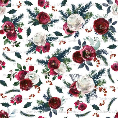 Vintage Christmas Florals