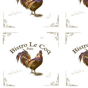 Paris Rooster Bistro Le Cog