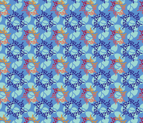 Transition from Summer to Fall to Winter fabric by art-with-ali on Spoonflower - custom fabric
