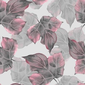 Pattern with leaves 5