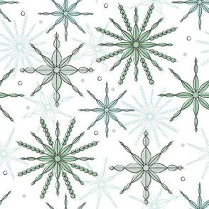 Frosty Fragments ~ mint chill