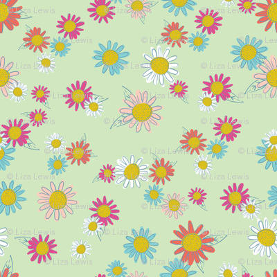 SimpleFloral-Green