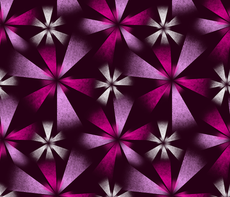 Fragmented Pink Burst fabric by thewellingtonboot on Spoonflower - custom fabric